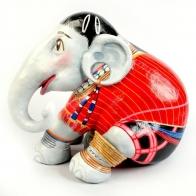 Éléphant Parade  RED KAREN