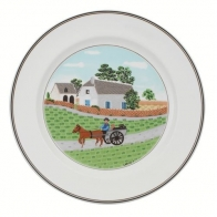 Assiette plate PAYSAN