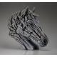 Buste de cheval EDGE SCULPTURE Blanc