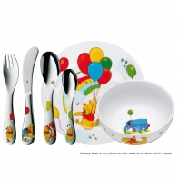 "Coffret enfant "" Winnie l'ourson"" 6 pcs WMF"