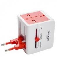 Adaptateur universel avec USB DELSEY