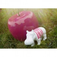 Figurine Hippo rayé
