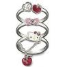 Bague 3 anneaux Hello Kitty SWAROVSKI