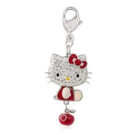 Breloque  Hello kitty SWAROVSKI