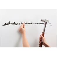 Déco murale San Francisco 50cm THE LINE