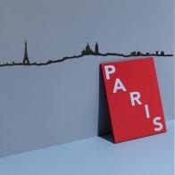 Déco murale Paris 1.25cm THE LINE