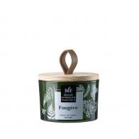 """Bougie parfumée vert """"Capot bois"""" BOUGIE LA FRANCAISE Fougère"""