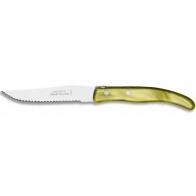 """Couteau à steak Berlingo """"Olive"""" C.DOZORME"""