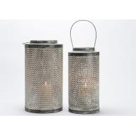 Lanterne zinc PM H 44