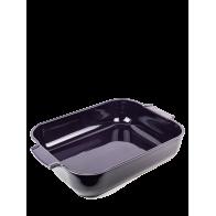 "Plat à gratin rectangulaire 40cm aubergine  ""Appolia"" PEUGEOT"