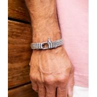 "Bracelet Sharp Simon Ivoire ""M"" 18cm PIG & HEN"
