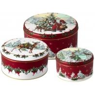 Set 3 boites à gâteaux de noël  VILLEROY & BOCH