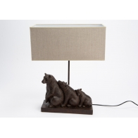 Lampe famille ours